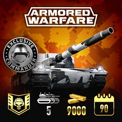 Armored Warfare Mercenary Legend Pack