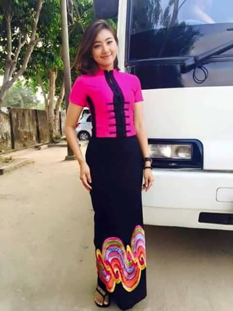 Myanmar Burmese Dress 2018 2019 Collection Fashionre
