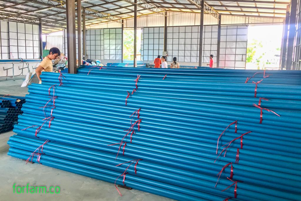 ท่อพีวีซี ท่อน้ำเกษตร ท่อสีฟ้า ราคาส่งจากโรงงาน