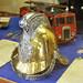 Brass Fire Helmet