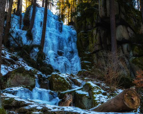 Blauenthaler Wasserfall - Ore Mountains, Germany