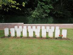 Arras: CWGC Tilloy British Cemetery, Tilloy-lès-Mofflaines (Pas-de-Calais)
