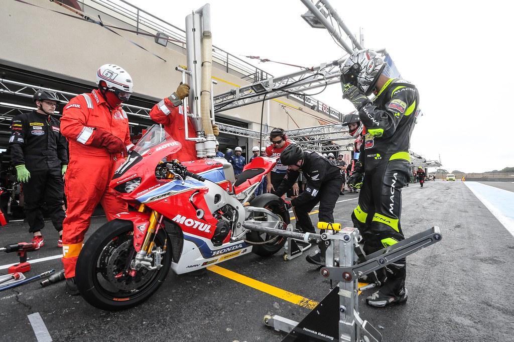 Ewc , Days , Bol , Dor , 2017 , Free , Practice , Team , Honda , Racing