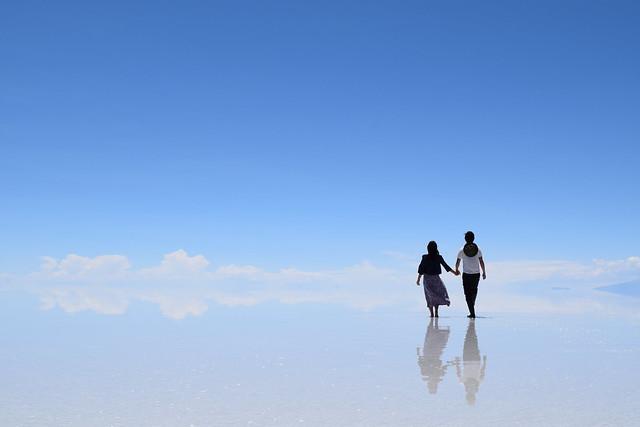 どこまで歩いていくのかまんぷく夫婦
