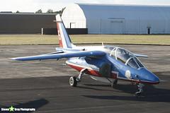 E163 6 F-TERB - E163 - Patrouille de France - French Air Force - Dassault-Dornier Alpha Jet E - RIAT 2010 Fairford - Steven Gray - IMG_8091