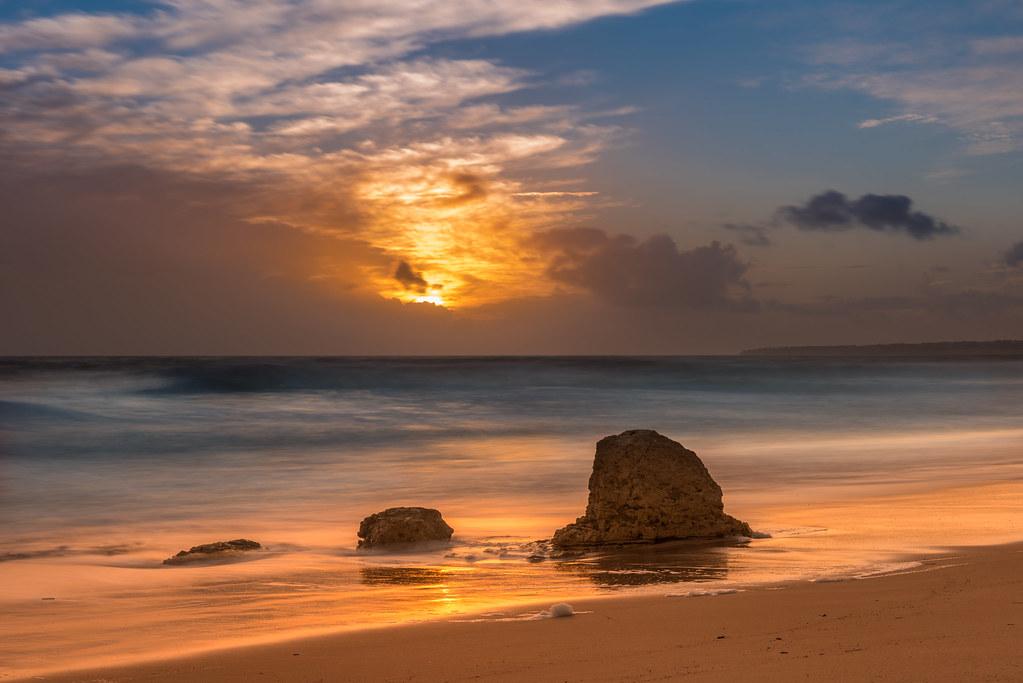 Passing Storm At Praia do Galé