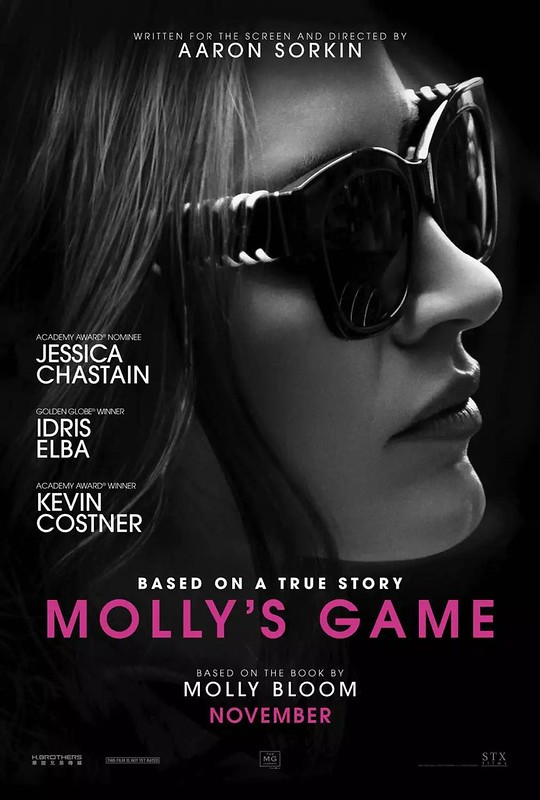 Molly's Game - Poster 1