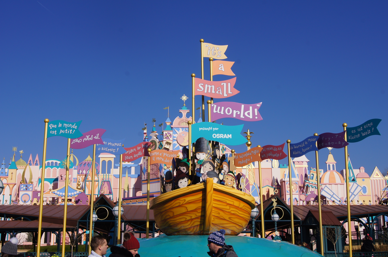Disneyland Paris Trip - small world