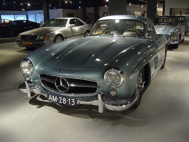 Mercedes Benz 300 SL, Panasonic DMC-LS1