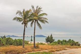 The beautiful sea view in Sanya by allen_bao