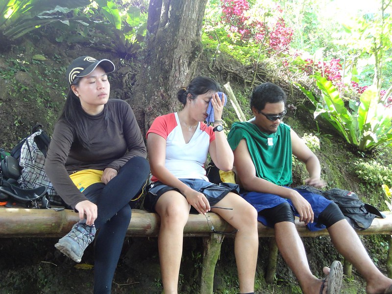 tired hikers