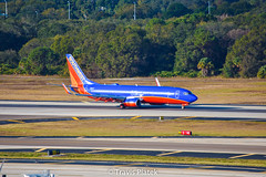 Southwest Airlines –  Boeing 737-8H4 N8611F @ Tampa International
