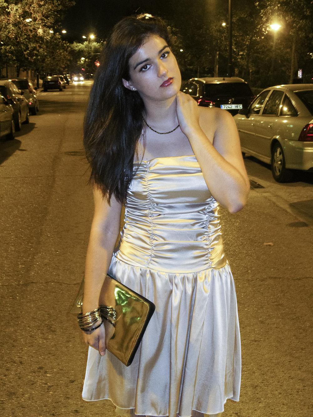 somethingfashion blogger valencia influencer spain_carolina herrera sandals_vintage dress beauty beast inspired 5