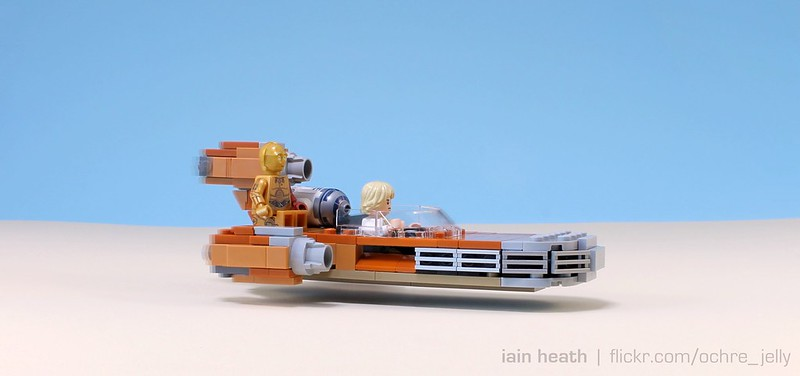 Burn Notice: Landspeeder