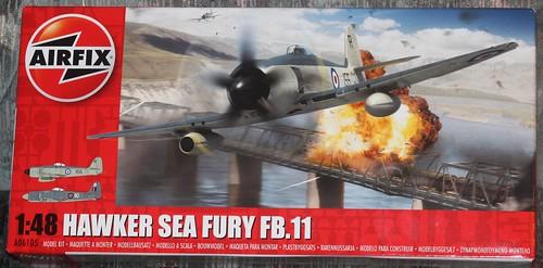 Hawker Sea Fury FB.11, Airfix 1/48 40301555091_832dd98955