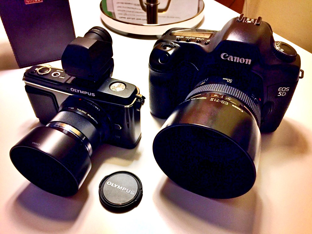 My two favorite cameras and lenses