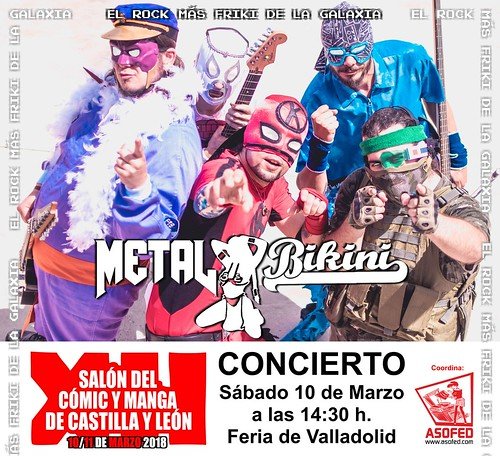 Metal Bikini XII Salón del Cómic y Manga de Castilla y León.
