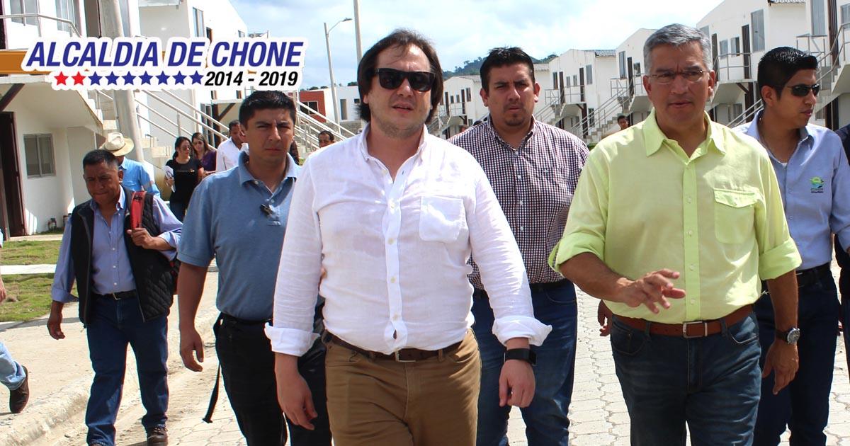 Secretario de Planificación visitó Chone