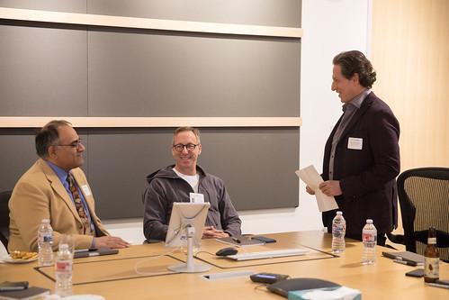 Ravi Rajan, Tim Disney and Andrew Millstein