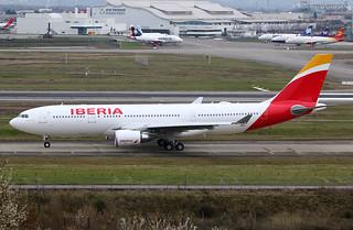 F-WWCQ Airbus A330 Iberia