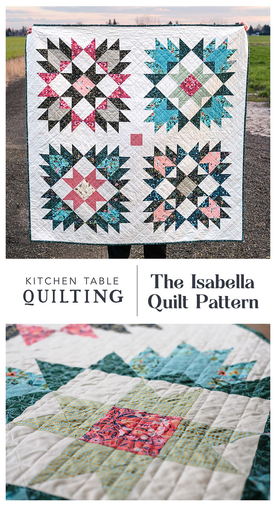 The Isabella Quilt Pattern - Kitchen Table Quilting