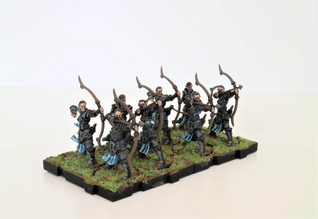 Runewars MIniatures Blue Spruce Archers Front