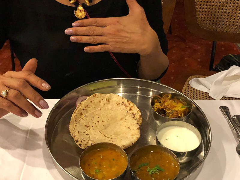 City Food - Ghar Ka Khana Platter, India International Center