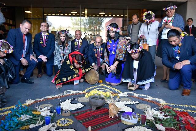 Visita Director General a México en el marco del Foro de Mujeres Indígenas