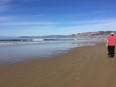 beach walk 1/1/18