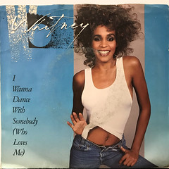 WHITNEY HOUSTON:I WANNA DANCE WITH SOMBODY(JACKET A)