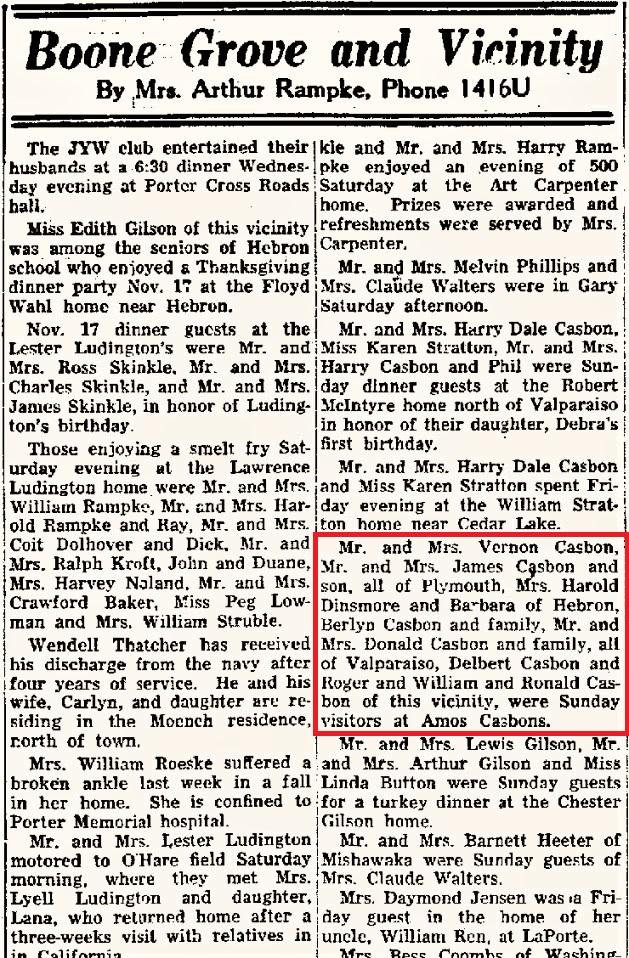 Vidette 25 Nov 1955 p10 col 3