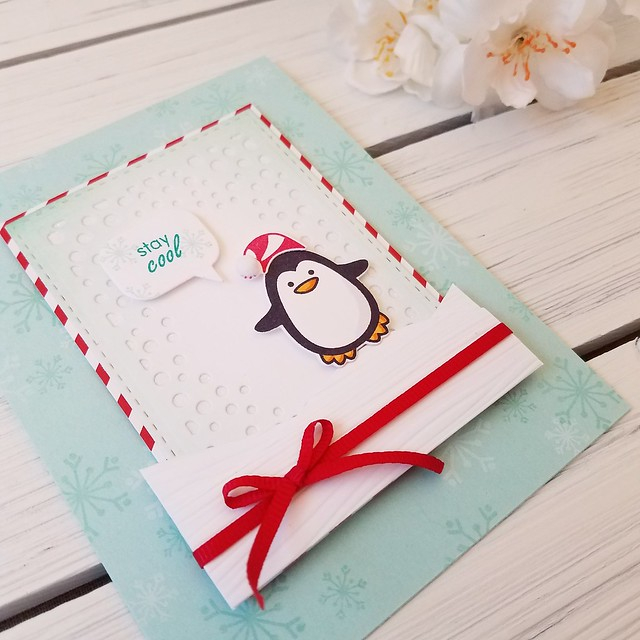 lj stay cool winter penguin card 2