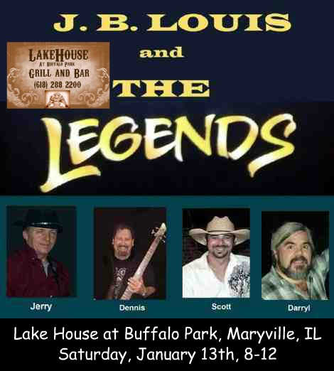 J.B. Louis and The Legends 1-13-18