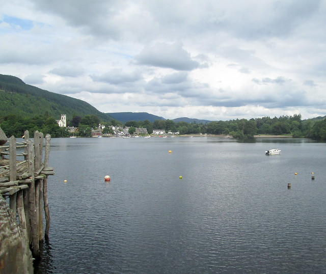Kenmore from Crannog