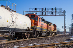 BNSF 2687 | EMD GP39-3 | BNSF Thayer South Subdivision