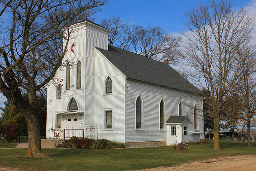 Clarno Zion United Methodist Church - Clarno, WI