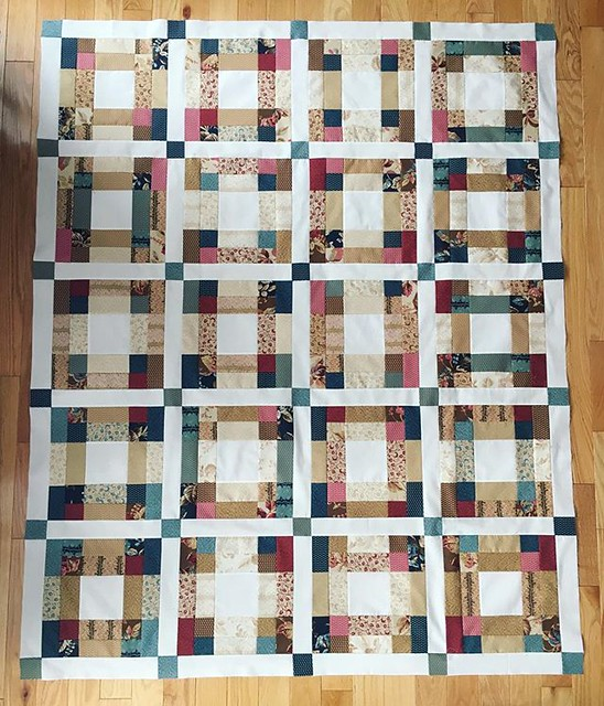 Quilt top is done. Still need to get fabric for border, backing and binding. #quilting