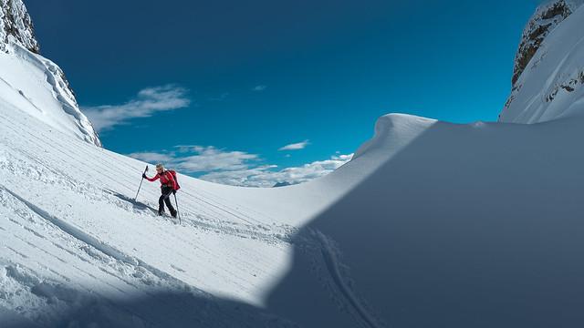 Winter skiing, Olympus E-M5MarkII, Lumix G Vario 14-140mm F3.5-5.6 Asph. Power OIS