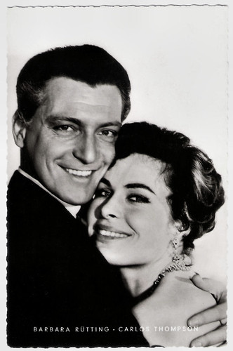 Barbara Rütting and Carlos Thompson in Ich war ihm hörig (1958)