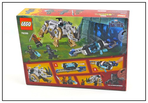 LEGO Marvel Super Heroes Black Panther 76099 & 76100 box 02