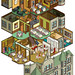 The Nutcracker at The Whitney Mansion: AAA Magazine - isometric cutaway illustration by Rod Hunt
