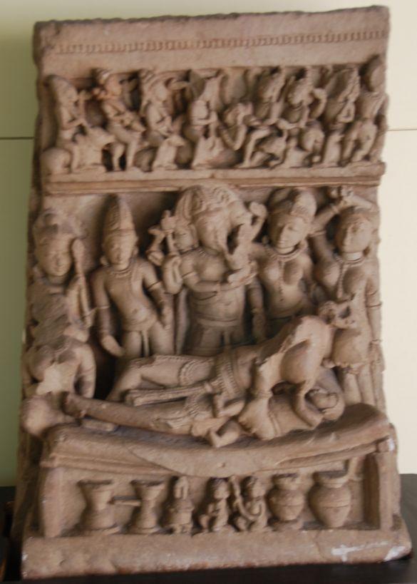 DSC_8457BhopalStateMuseumBirthOfKrishna11thCenturyADHinglajgarh