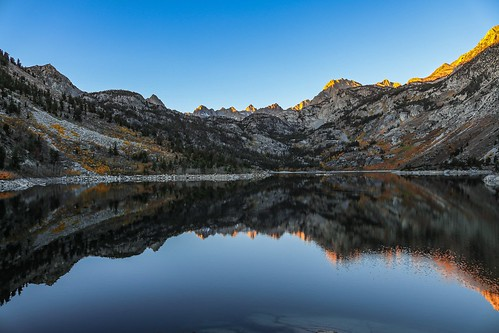 Lake Sabrina Sunrise