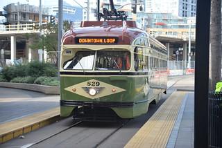 Silver Line görüntü. sandiegotrolley silverline stlouiscarco pcc eastvillage sandiegoca nikond610 nikkor35135mmƒ3545af geotagged