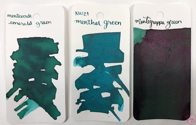 Ink Shot Review Monteverde Emerald Green @MonteverdePens @KnightsWritingC 2