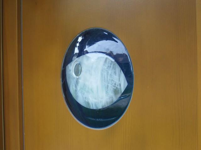 spékané sklo