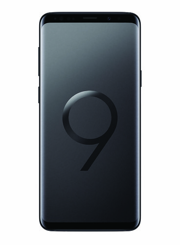 Samsung Galaxy S9+ - Midnight Black - Front