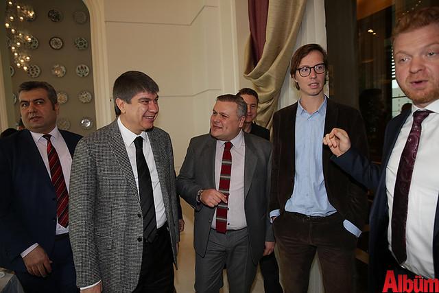 Antalya Büyükşehir Belediyesi Başkanı Menderes Türel Alman Gazetecilerle buluştu -2