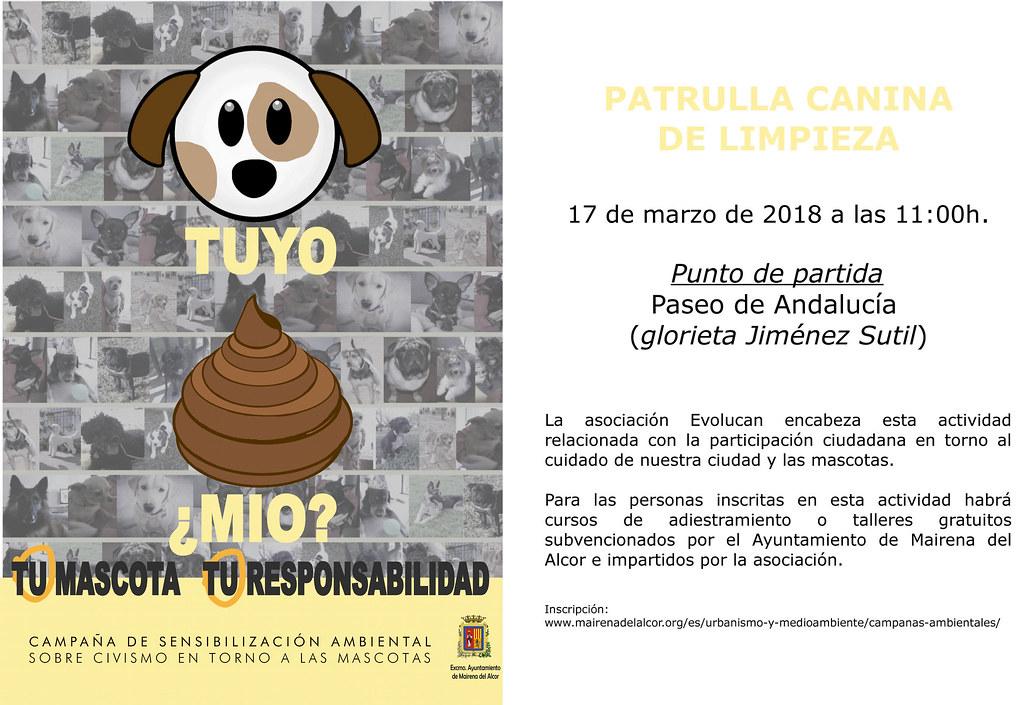 Patrulla canina de limpieza marzo18