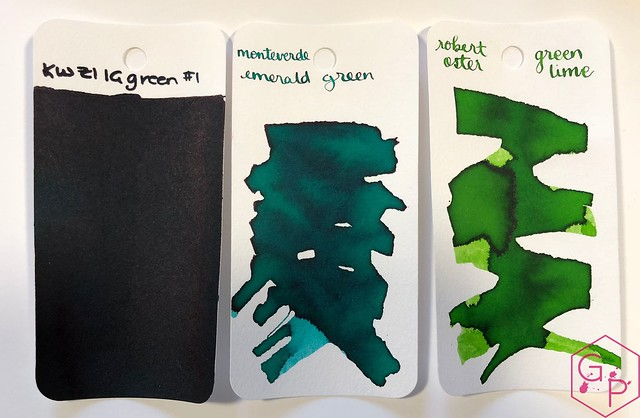 Ink Shot Review KWZ Ink IG Green #1 @BureauDirect 2